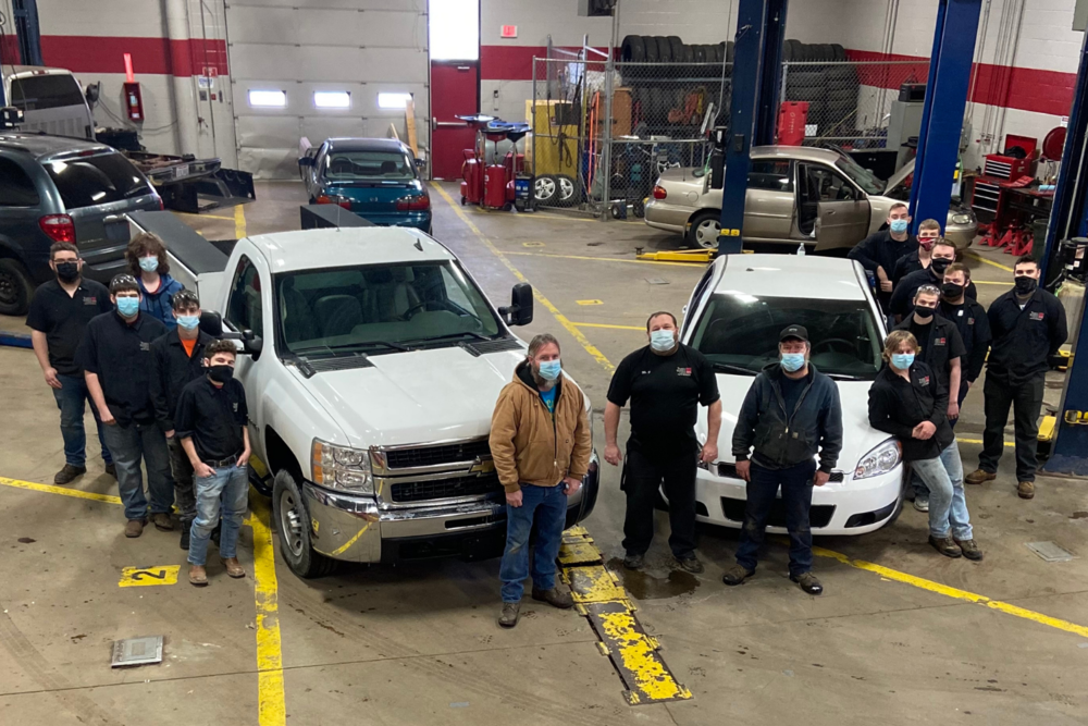 Village of Lordstown Donates Chevy Impala and Chevy Silverado to the  Auto Services Program